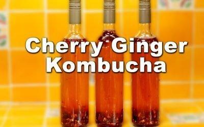Cherry Ginger Kombucha Recipe