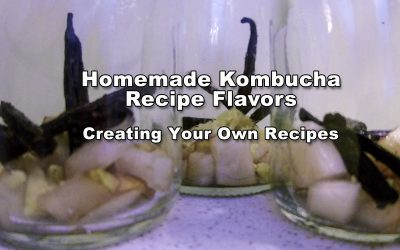 Homemade Kombucha Recipe Flavors – Creating Your Own Recipes